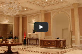 Video of the reception table manufacture of the new National Assembly of Angola